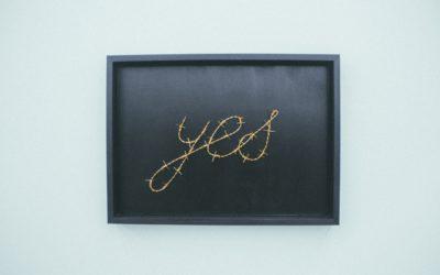 Jes zegt 'ja'!